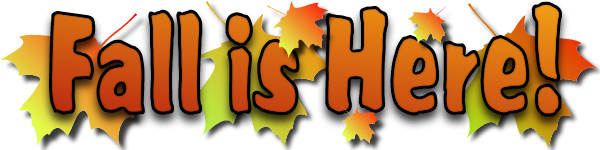 First Day of Fall Clip Art - First Day Of Fall Clip Art