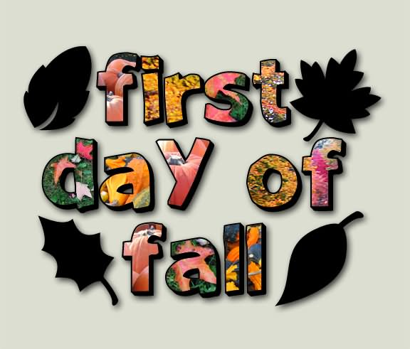 First Day of Fall Greetings 2 - First Day Of Fall Clip Art