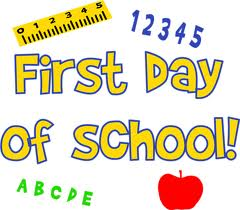 First Day Of School The First Day Of School For The 2014 15 School