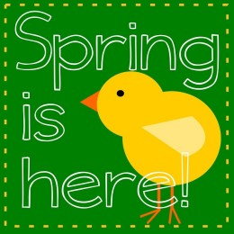 First Day Of Spring Clip Art-First Day of Spring Clip Art-3