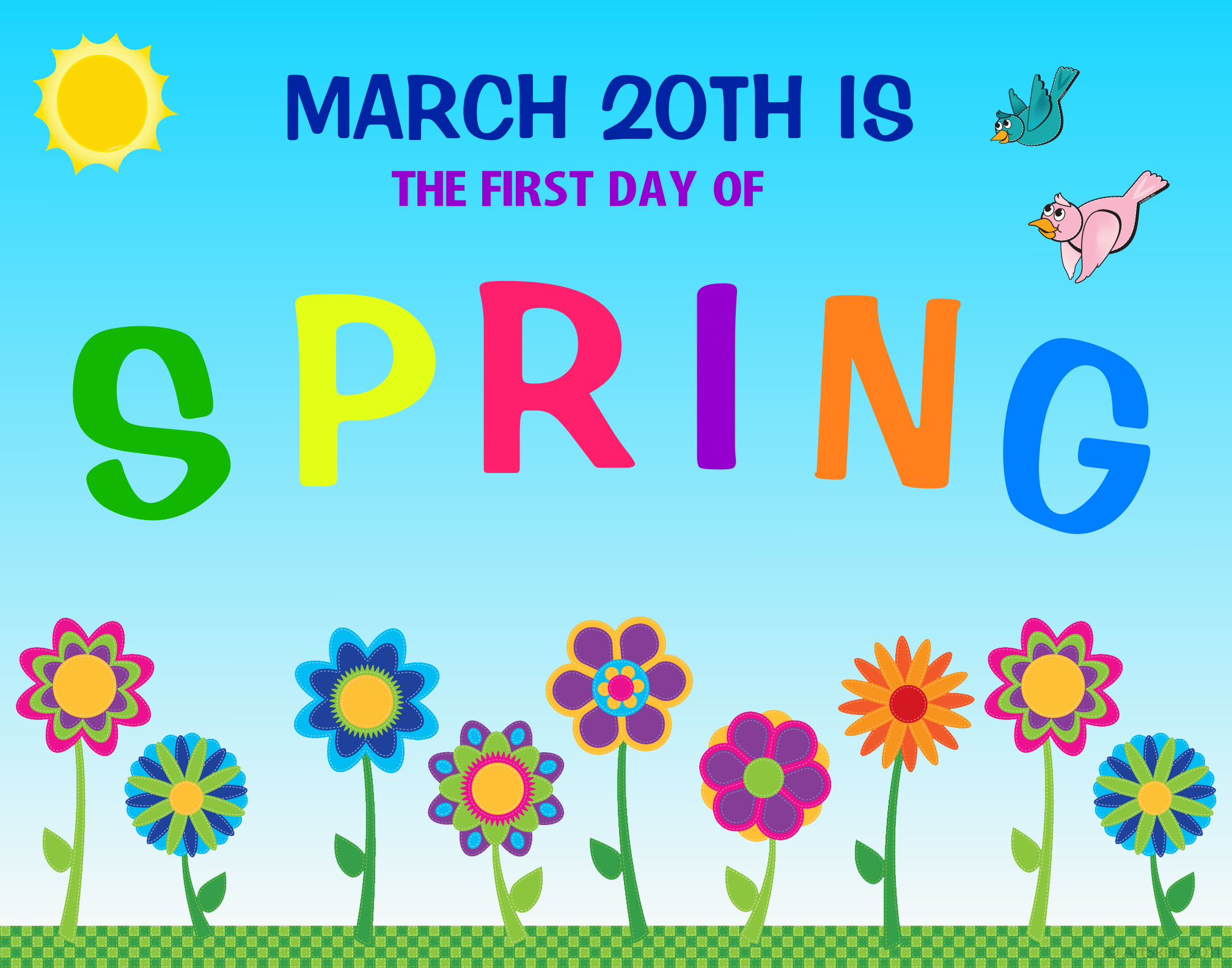 First Day Of Spring Clipart Images Pictu-First Day Of Spring Clipart Images Pictures Becuo-8