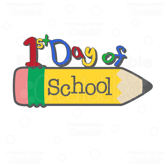 First Day ... School clipart