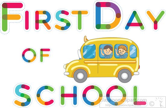 first day school owl animation