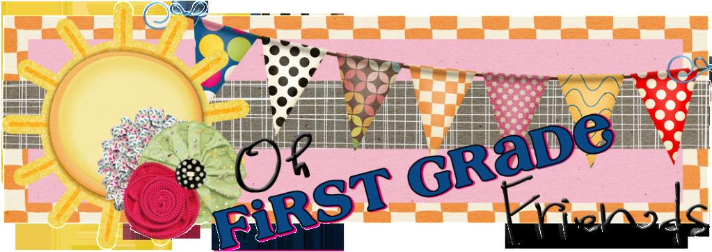 First Grade Friends Clipart #1