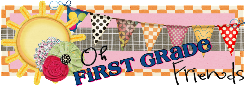 First Grade Friends Clipart