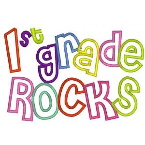 First Grade Rocks Clipart