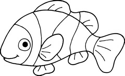 ... Fish Black And White Clipart - clipartall ...