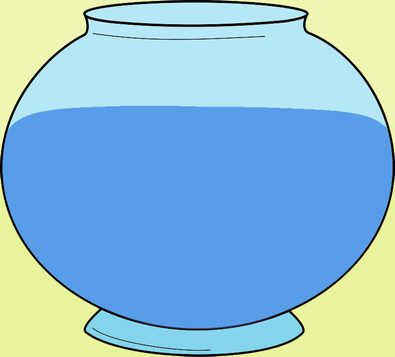 Fish Bowl Clip Art