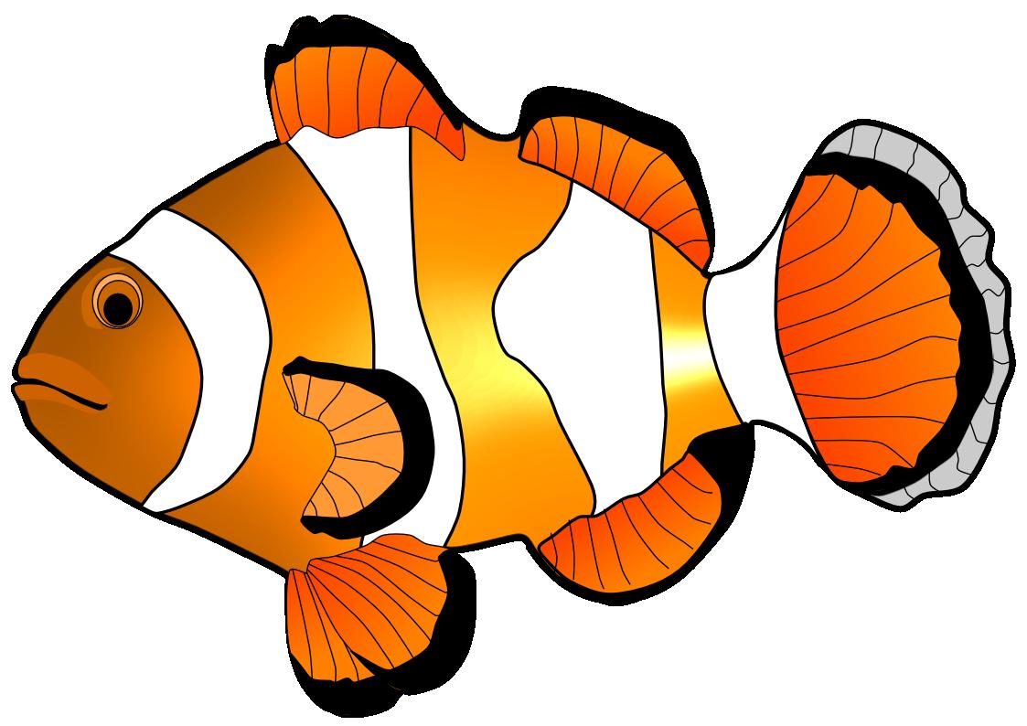 Fish clip art free clipart .