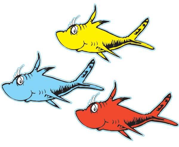 Fish Dr Seuss Clipart Free .-fish dr seuss clipart free .-15