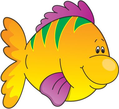 Fish In Water Clip Art | Fish Clip Art F-Fish in Water Clip Art | Fish Clip Art for Kids-9