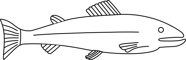 Fish Outline Clip Art Free Vector In Ope-Fish Outline Clip Art Free Vector In Open Office Drawing-7