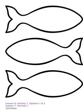 Fish Outline Drawing, .-Fish Outline Drawing, .-9