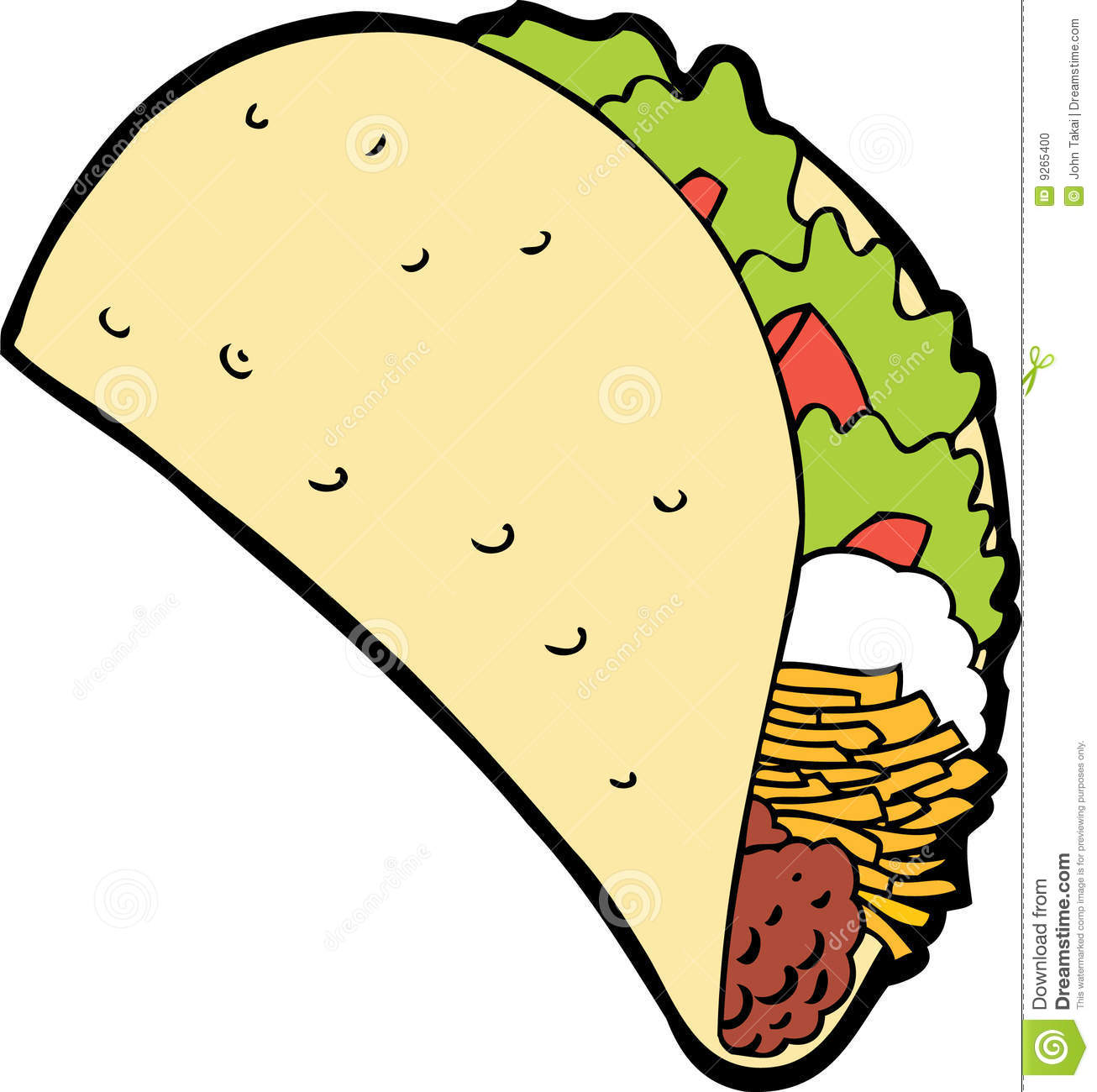 Fish Taco Clipart Free Clip Art Images