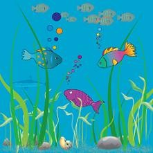 fish under the ocean. ocean w - Ocean Clip Art
