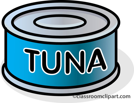fish yellowfin tuna clipart