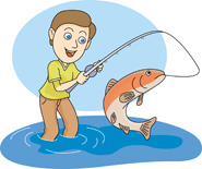 Fishing Clip Art U0026middot; Fishing Cl-Fishing Clip Art u0026middot; fishing clipart-7
