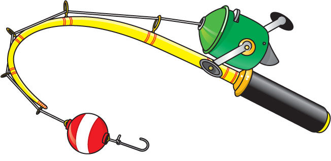 fishing equipment clipart
