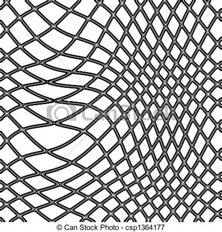 Fishing Net - Transparent Black Fishing -fishing net - transparent black fishing net on white... ...-6