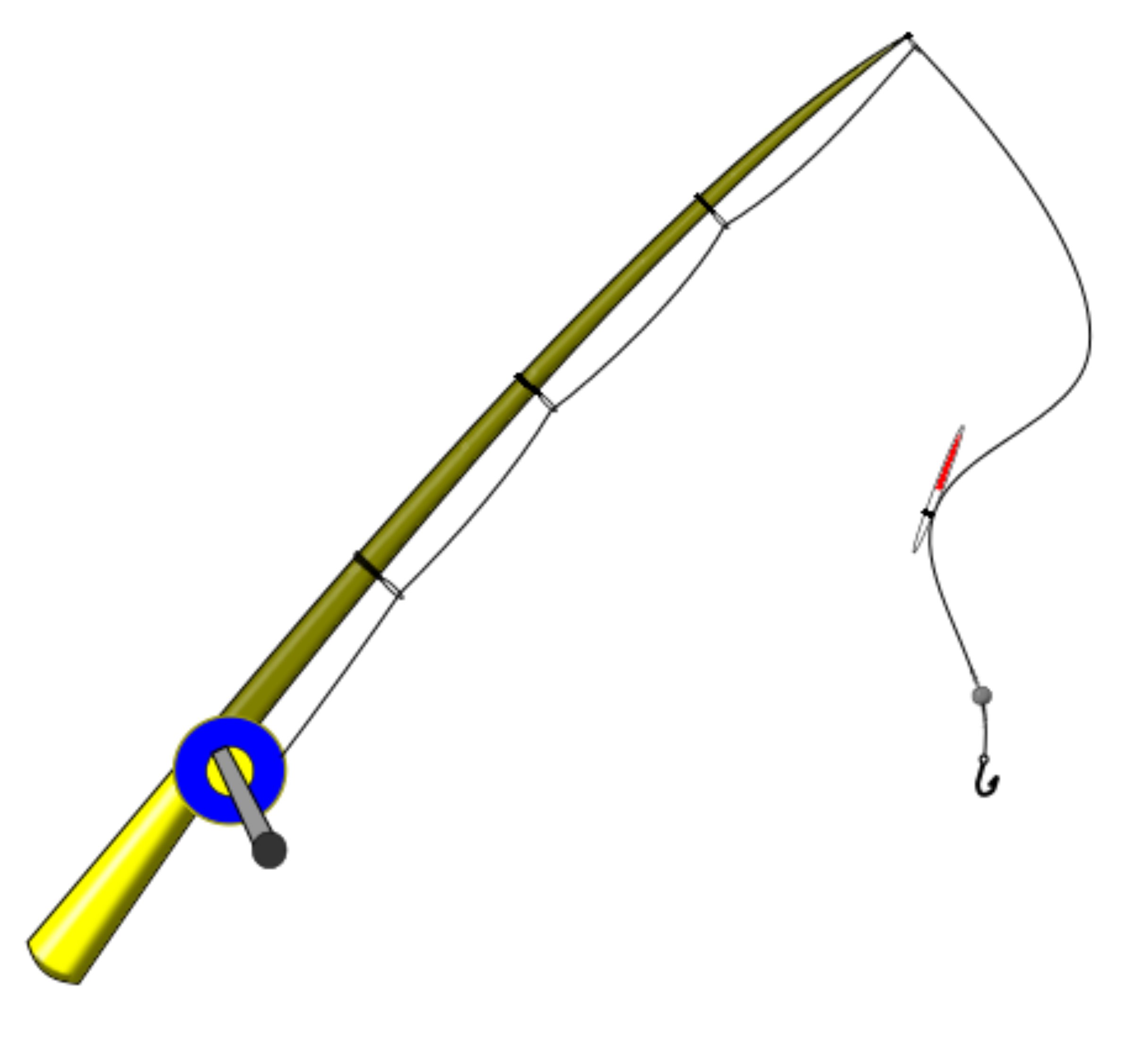 Fishing pole clipart fishing rod image 2