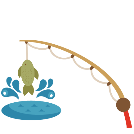 Fishing Pole With Fish Clipart 2-Fishing pole with fish clipart 2-10