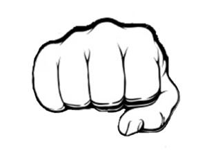 Fist Clip Art At Clker Com Vector Clip Art Online Royalty Free