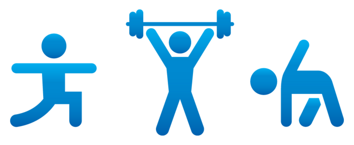 Fitness clip art clipart 2 image