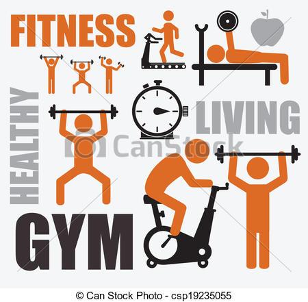 Fitness free clip art . Resolution 450x441 .