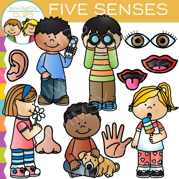 Five Senses Clip Art-Five Senses Clip Art-4