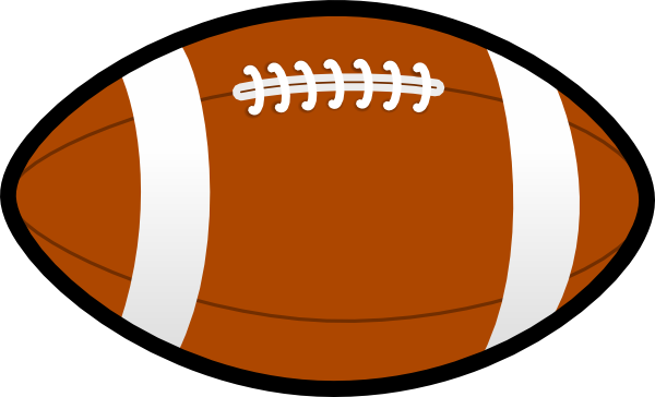 flag football clipart black and white
