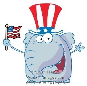 Flag Clipart Image .