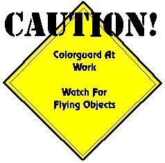 flag, colorguard clipart caution, colorguard clipart