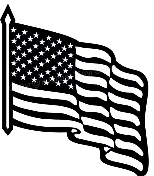 Flag Day Clip Art Black And ..-Flag Day Clip Art Black And ..-12