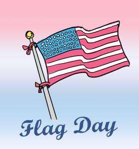 Flag Day Clipart Graphic-Flag Day Clipart Graphic-8
