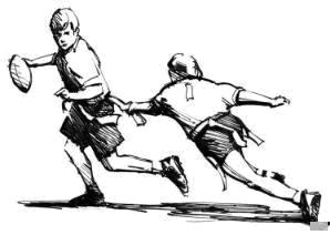 ... Flag Football Clipart; Activities An-... Flag Football Clipart; Activities and Forms / Flag Football-2