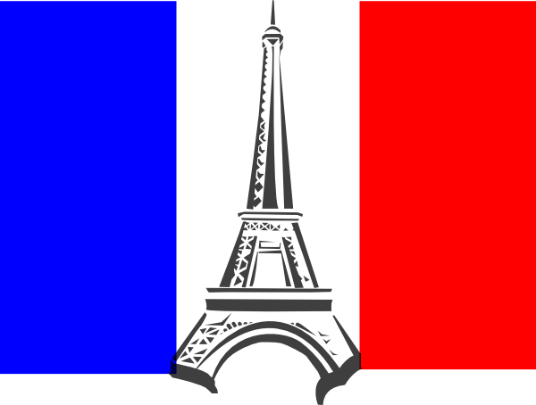 Flag France Clip Art At Clker Com Vector Clip Art Online Royalty