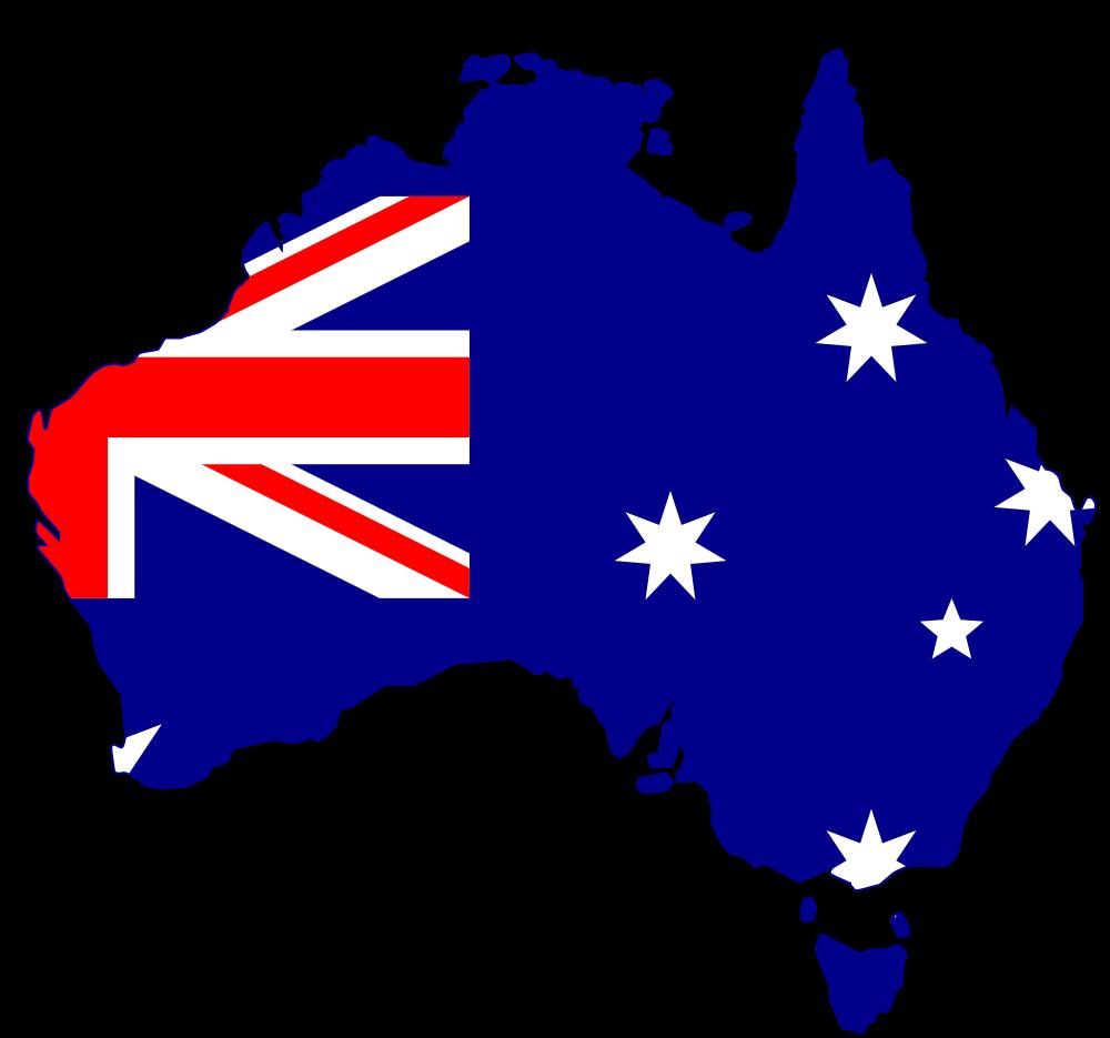 ... Flag Silhouette Australia - Rooweb C-... Flag Silhouette Australia - Rooweb Clipart ...-2