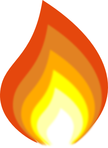 Flame By J Dub Clip Art At Clker Com Vector Clip Art Online Royalty