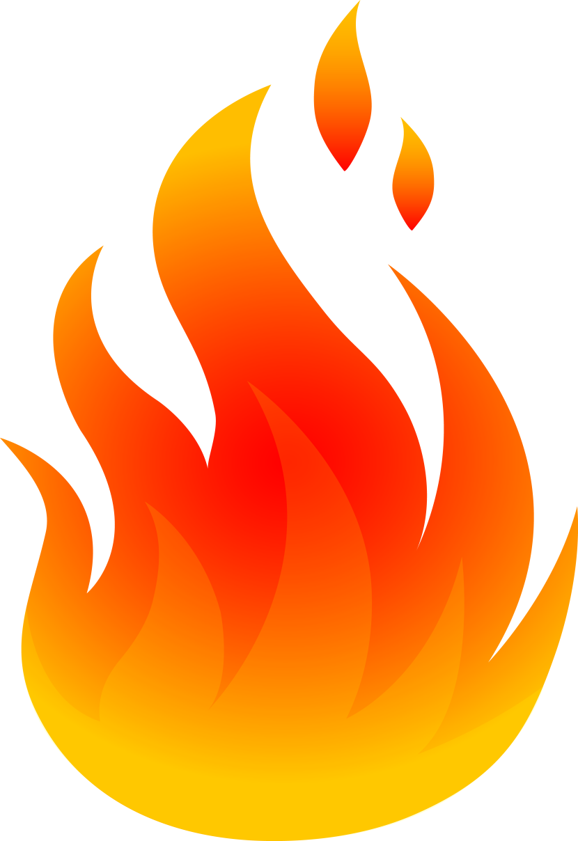 Flame clipart 2