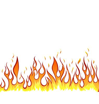 Flames Clip Art Border Flames Border Clipart