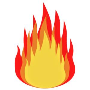 Flames clip art the cliparts