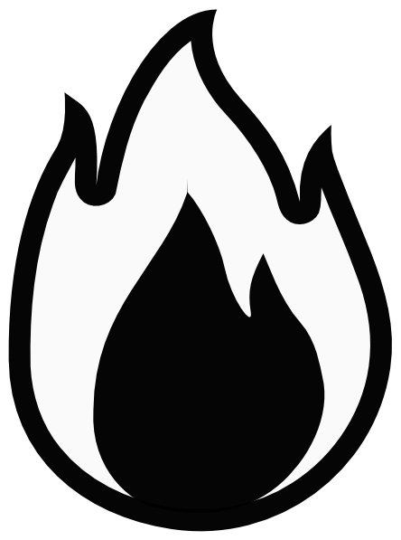 Flames flame outline clipart-Flames flame outline clipart-8