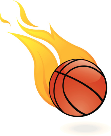 11+ Flaming Basketball Clipart | ClipartLook