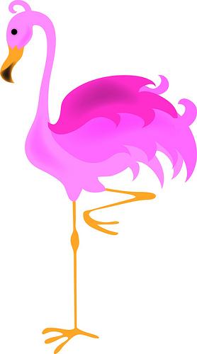 Flamingo clip art free free clipart images 4