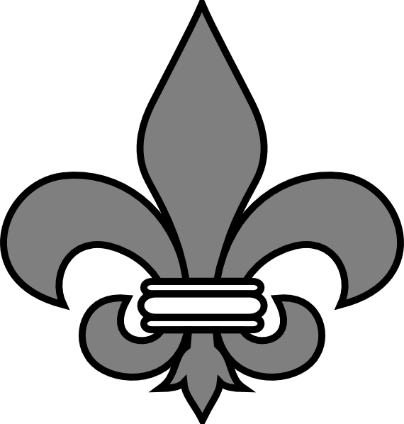 Fleur de lis clip art images illustrations photos 3