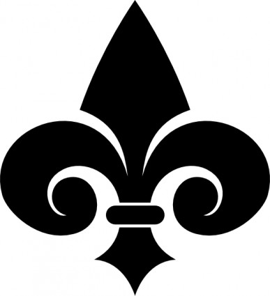 Fleur de lis fleur de lys clip art free vector in open office drawing svg 2
