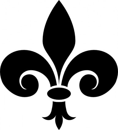 Fleur de lis fleur de lys clip art free vector in open office drawing svg