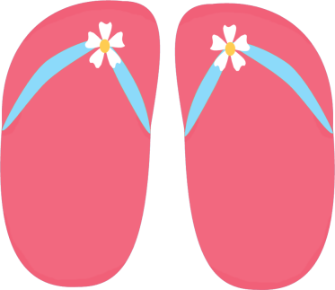 flip flop clipart black and white-flip flop clipart black and white-4