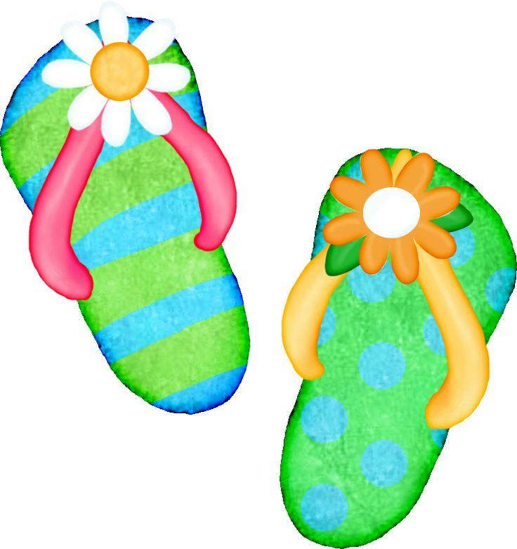 flip flop clip art free .