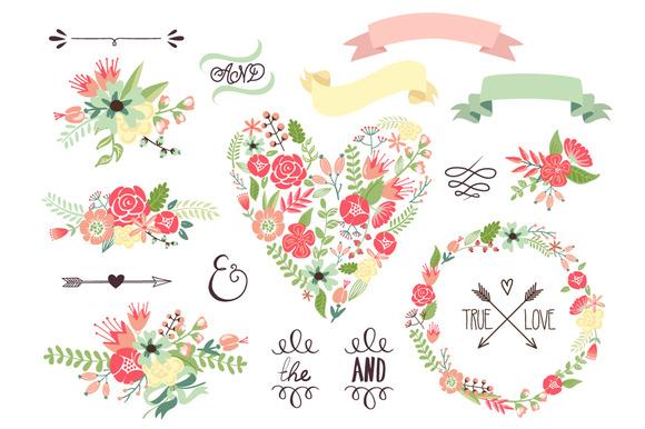 55 Floral Clipart